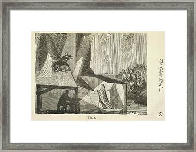 The Ghost Illusion Framed Print