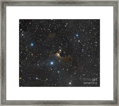 The Ghost Nebula, Vdb 141 Framed Print by Michael Miller