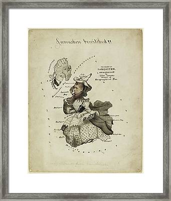 The Ghost Of Lancaster Bewitched Framed Print