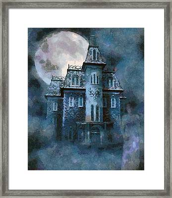 The Ghost Of Little Mary Framed Print