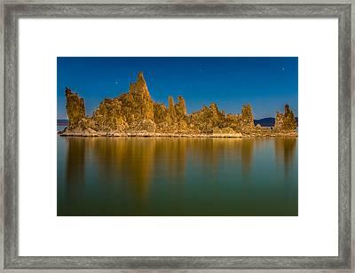 The Ghost Ship At Mono Lake Framed Print
