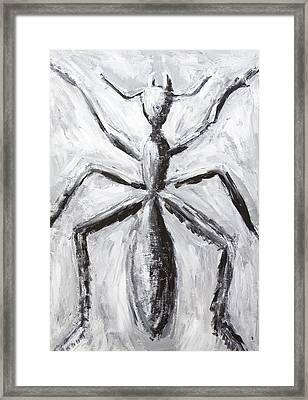 The Giant Cave Ant Framed Print by Kazuya Akimoto