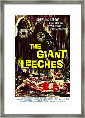 The Giant Leeches, Aka Attack Of The Framed Print