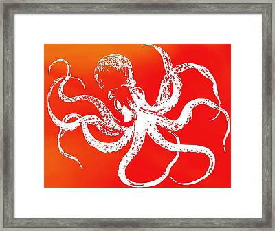The Giant Octopus Framed Print by Dan Sproul