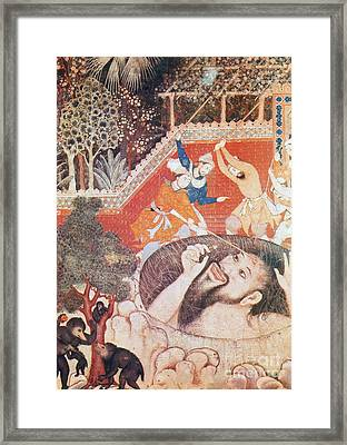 The Giant Zumrud Shah Framed Print by Photo Researchers