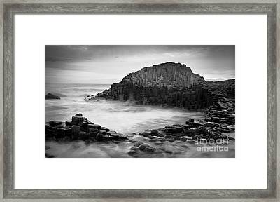 The Giant's Cove Framed Print