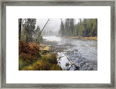 The Gibbon's Inviting Waters  Framed Print