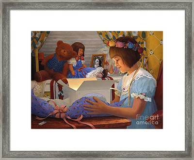 The Gift Framed Print by Charles Fennen