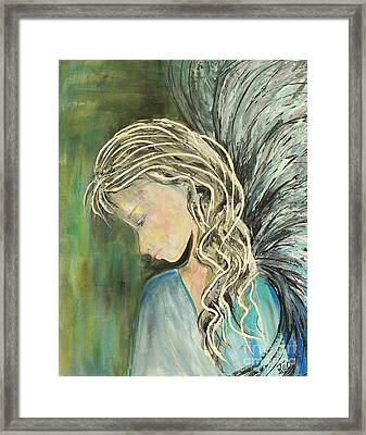 Framed Print featuring the painting The Gift by Jane Chesnut