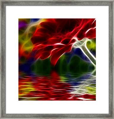 Framed Print featuring the digital art The Gift by Karen Showell