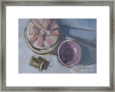 The Gift Framed Print by Mary Hubley