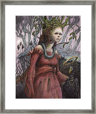 The Gift Of Consequence Framed Print by Ethan Harris
