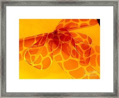 The Gift Framed Print by Ranjini Kandasamy