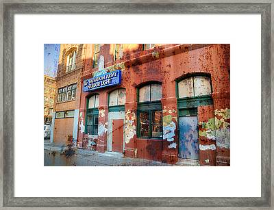 The Gift - Portland Oregon Framed Print by Spencer McDonald