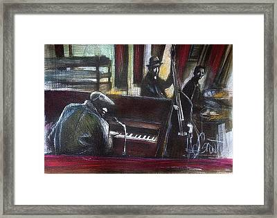 The Gig Framed Print