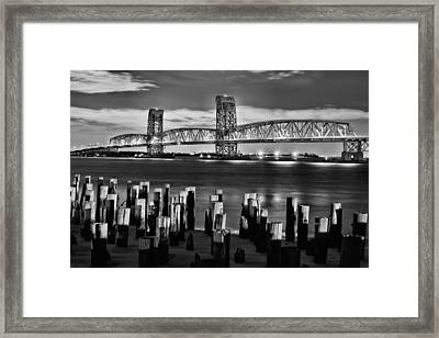 The Gil Hodges Bridge Framed Print