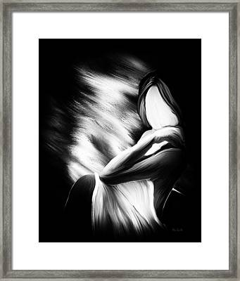 The Girl In My Room Framed Print by Bob Orsillo