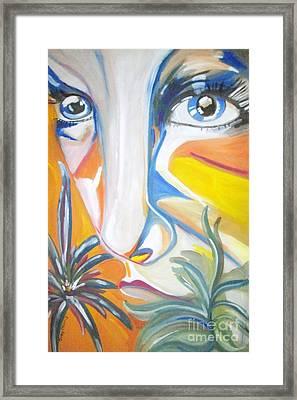 The Girl Framed Print