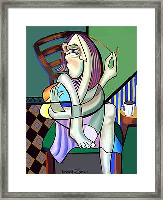 The Girl Next Door Framed Print by Anthony Falbo