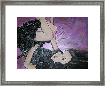 The Girl Who Broke My Heart Framed Print