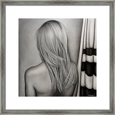 The Girlfriend Framed Print