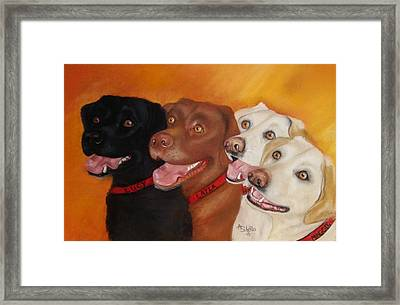 The Girls Framed Print