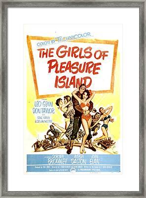 The Girls Of Pleasure Island, Us Framed Print by Everett
