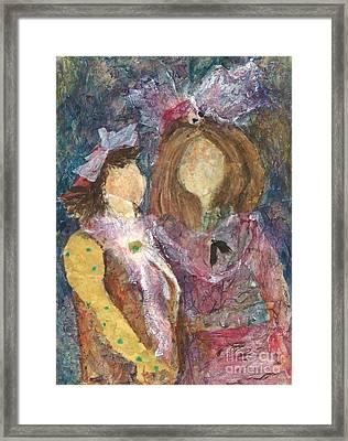 the Girls Framed Print by Sherry Harradence