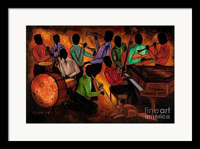 Negro Paintings Framed Prints