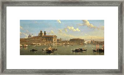 The Giudecca, Venice, Italy Signed And Dated Framed Print