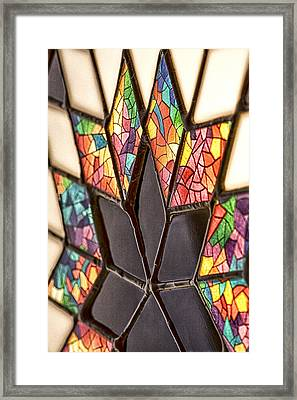 The Glass Star Framed Print by Gregory Gill