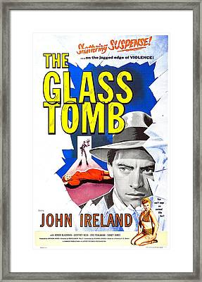 The Glass Tomb, Aka The Glass Cage Framed Print