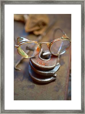 The Glasses 1 Framed Print