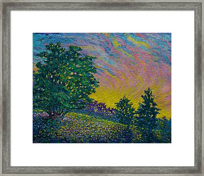 The Gleaming Framed Print