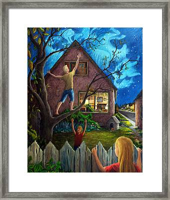 Framed Print featuring the painting The Gleaners by Matt Konar