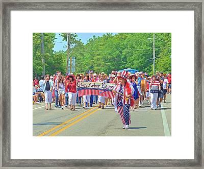 The Glen Arbor Kazoo Corps Framed Print