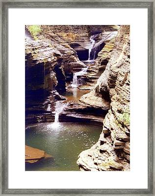 The Glen Framed Print