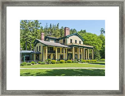 The Glen Iris Inn Framed Print