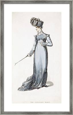 The Glengary Habit, Fashion Plate Framed Print