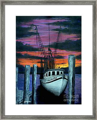 The Gloaming Framed Print by Jeff McJunkin