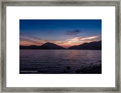The Gloaming Framed Print by Paul Herrmann