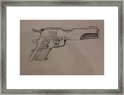 The Glock Bond Framed Print by Dylan Kerler