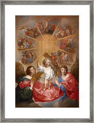 The Glorification Of The Name Of Jesus Framed Print