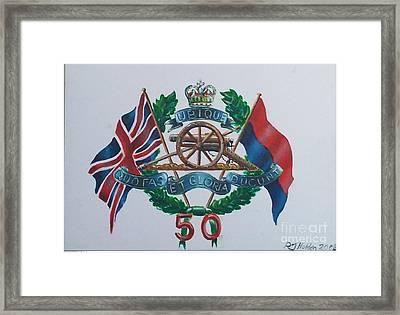 The Glorious 50 Framed Print by Richard John Holden RA