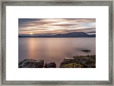 Framed Print featuring the photograph The Glory  by Anthony Fields
