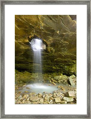 The Glory Hole Framed Print by Robert Camp