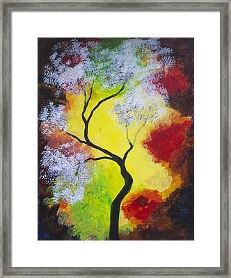 The Glory Of Fall Framed Print