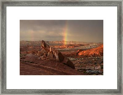 The Glory Of Sandstone Framed Print by Bob Christopher
