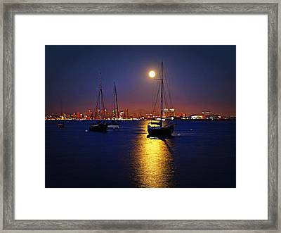 The Glory Of The Heavenly Bodies Framed Print by Sharon Soberon