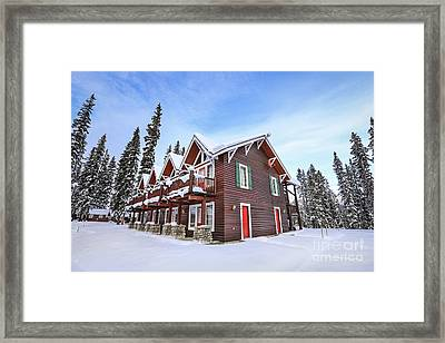 The Glory Of Winter's Chill Framed Print by Evelina Kremsdorf
